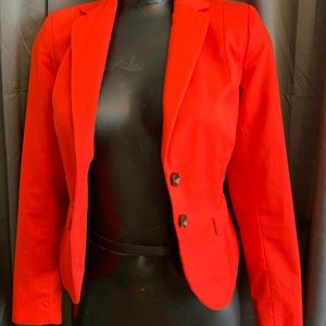 Bnwot redish Orange blazer